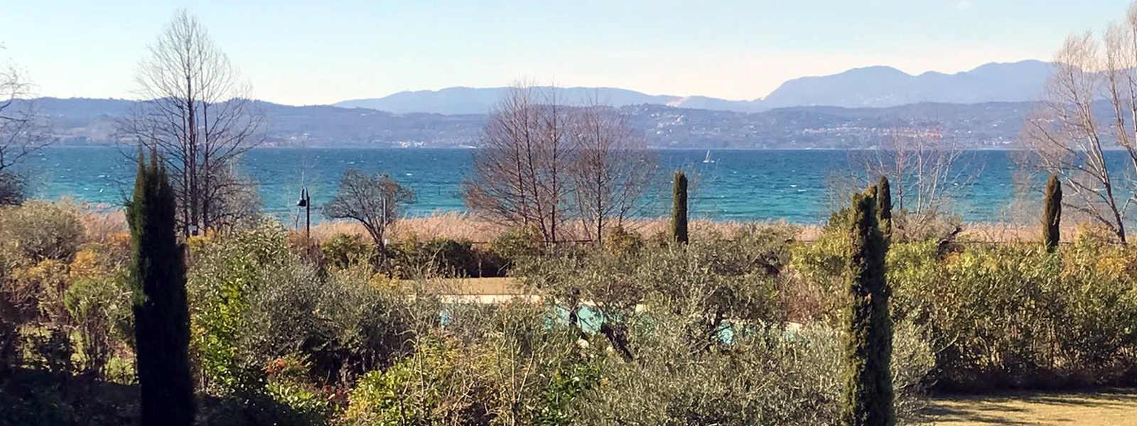 Lake view apartment Sirmione Lake Garda waterfront