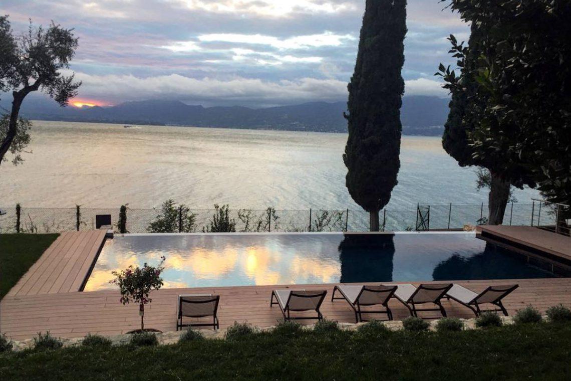 Lake Garda luxury Villa for rent on lake shores 08