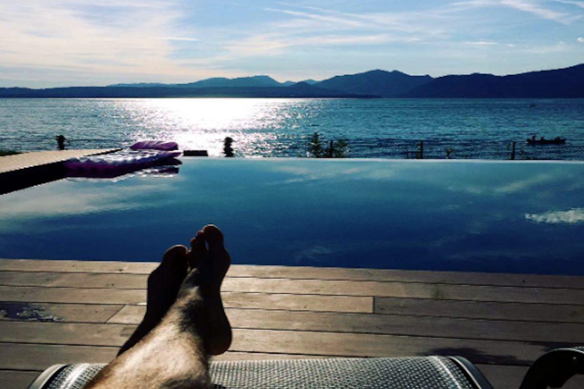 Lake Garda luxury Villa for rent on lake shores 09