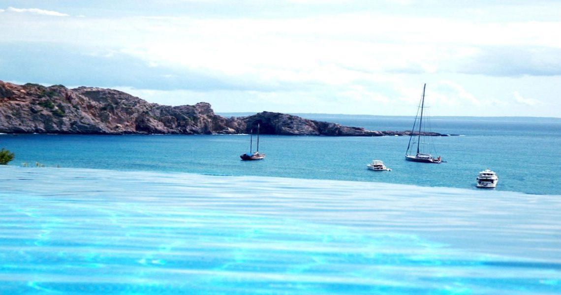 Waterfront luxury villa Ibiza for rent slider