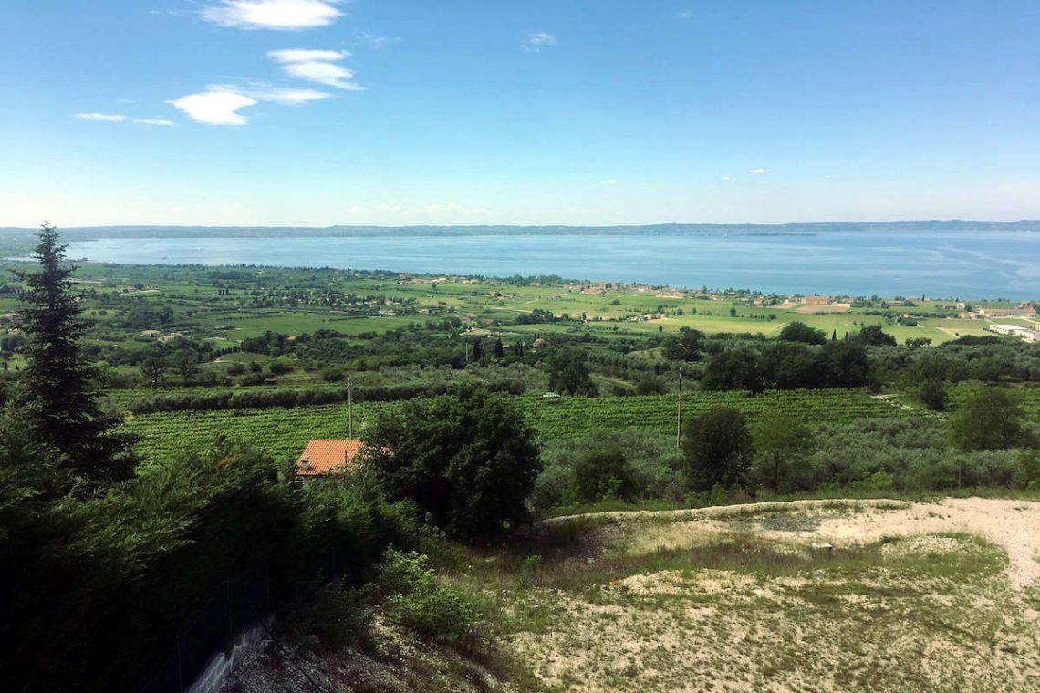 Lake view land plots for sale Lake Garda 03