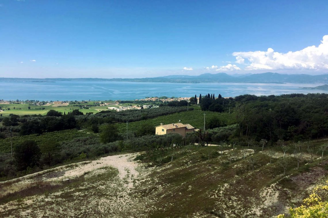 Lake view land plots for sale Lake Garda 04