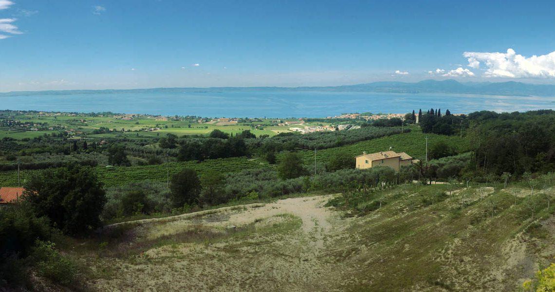Lake view land plots for sale Lake Garda slider