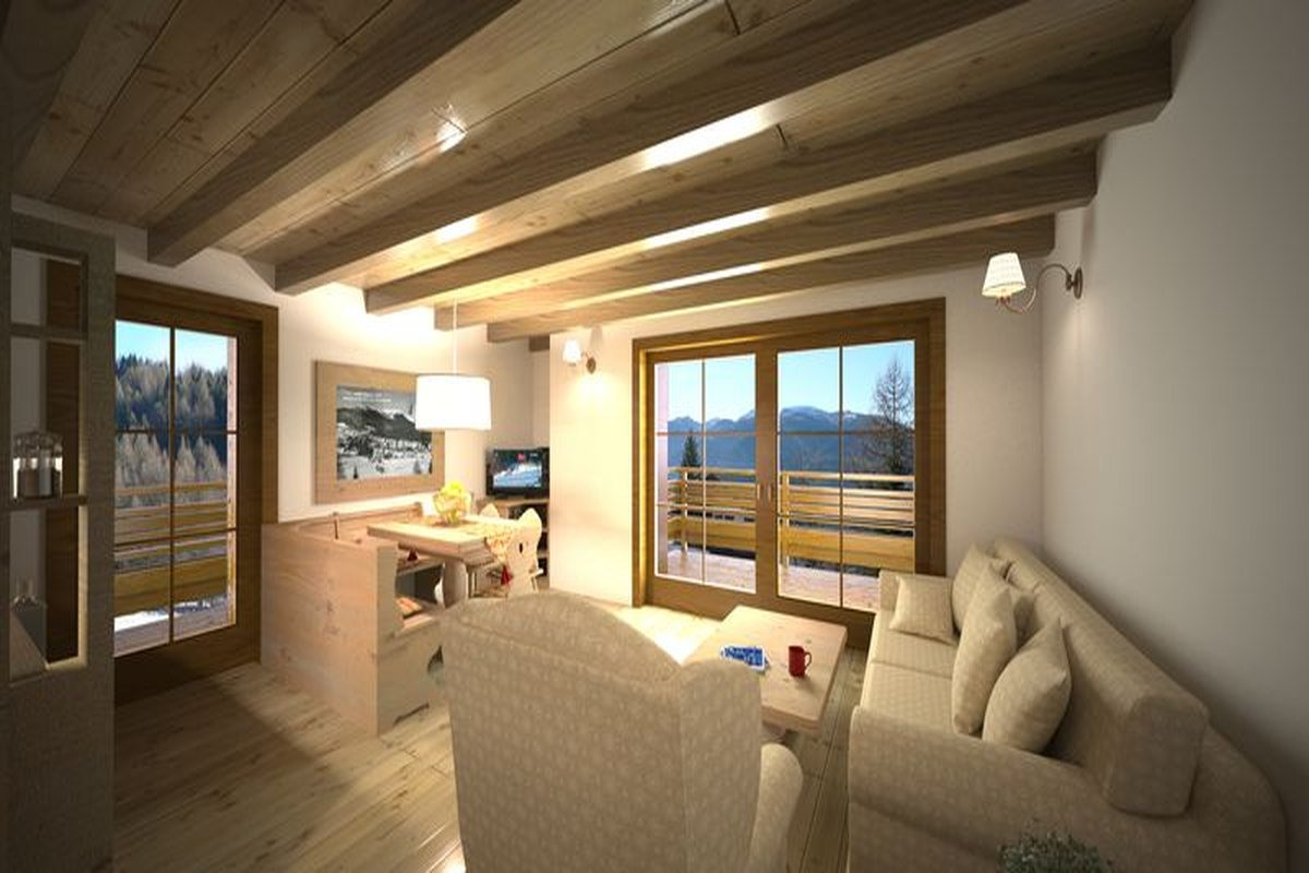Folgaria Ski apartments on ski slopes, 30 meters from ski lifts