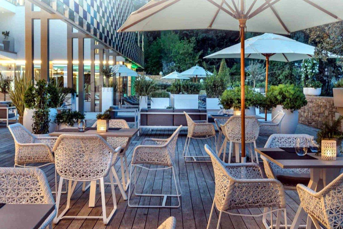 Villa at Lake Garda with modern design