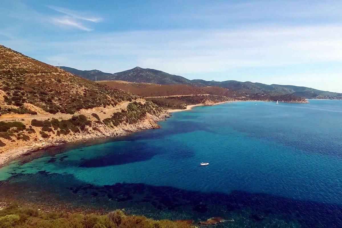 Villa Sardinia rental waterfront with pool