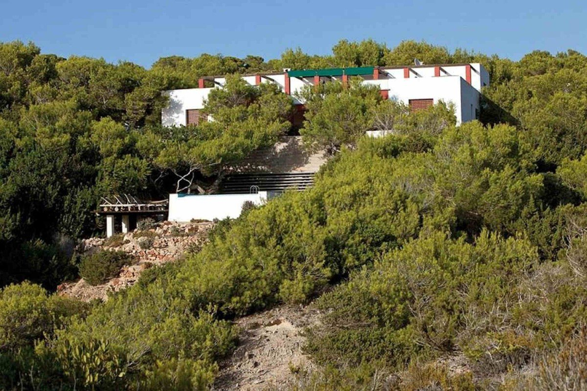 Villa Formentera rental waterfront with pool
