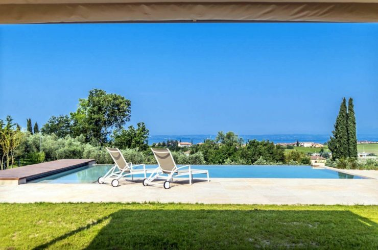 Villa Lake Garda rental with beautiful lake view