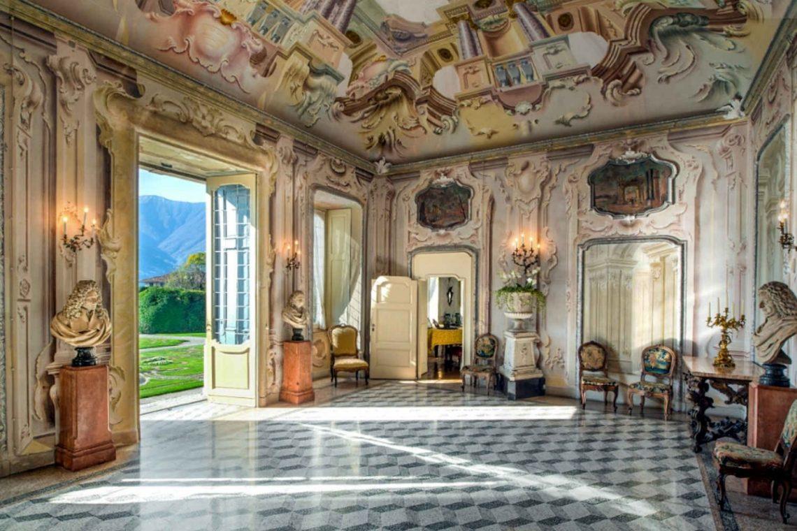 Historical Villa Lake Como 08