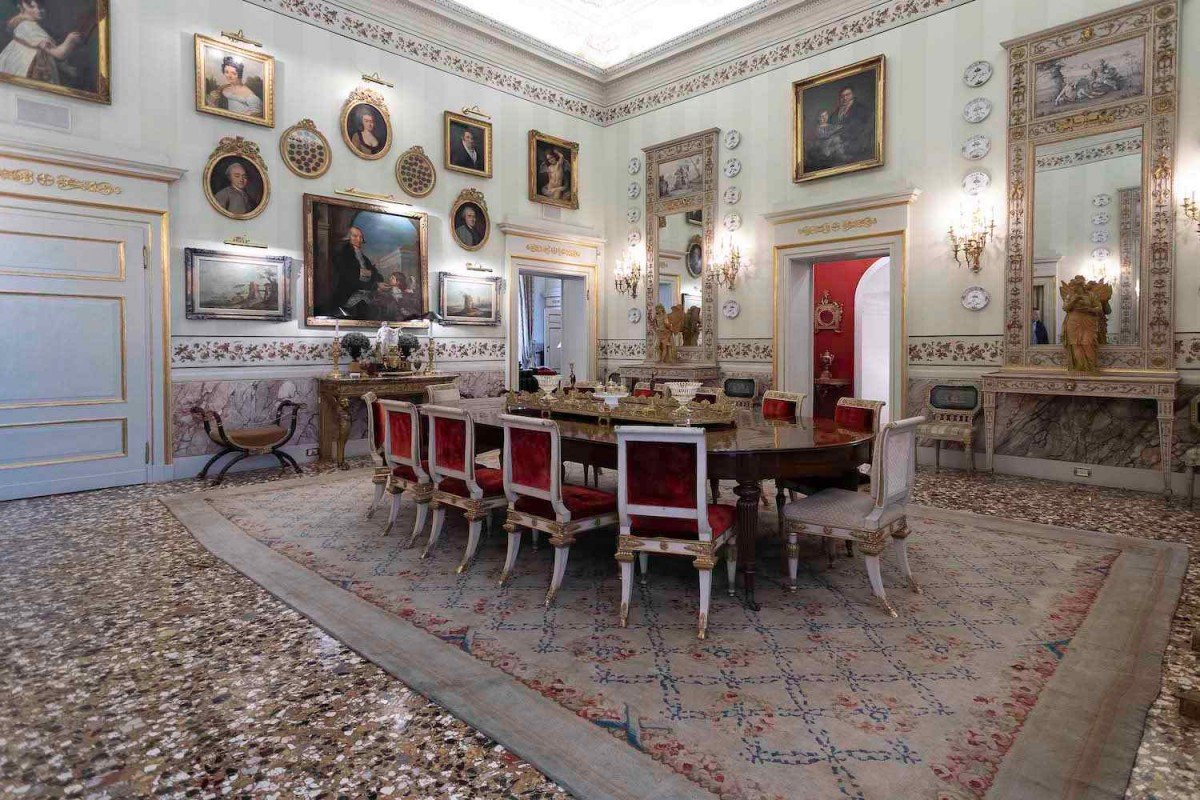 Historic Home in Italy with Art Collection