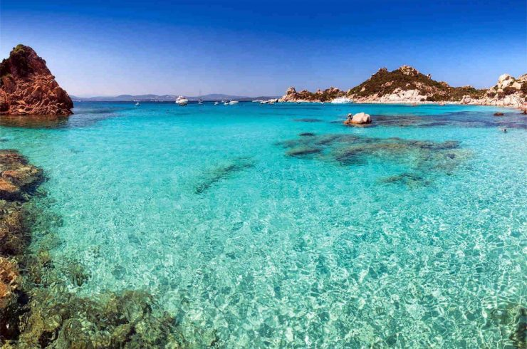 Sardinia villa for sale with private mooring