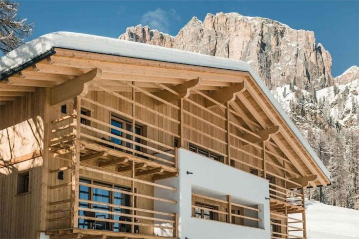 Luxury Chalet Dolomites for rent with SPA & Wellness